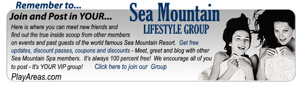 playareas.com the Sea Mountain Lifestyles website